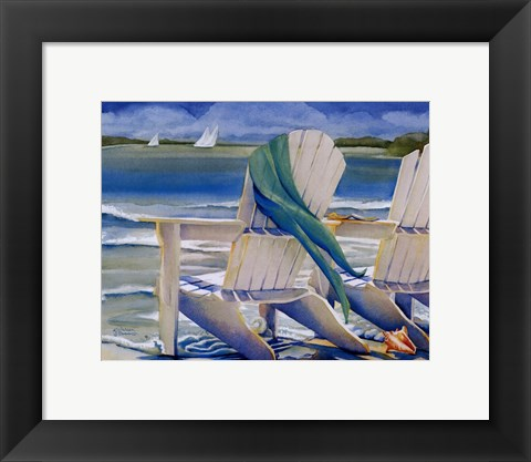 Framed Seaside Breeze Print
