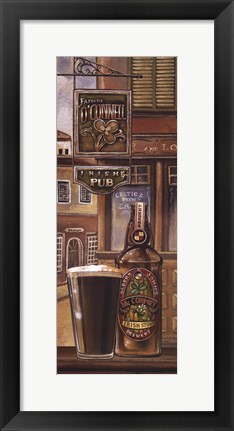 Framed Irish Beer Print