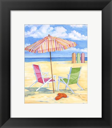 Framed Oceanside III - Mini Print