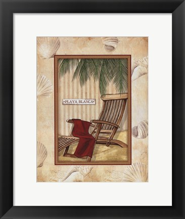 Framed Parasol Club II Print