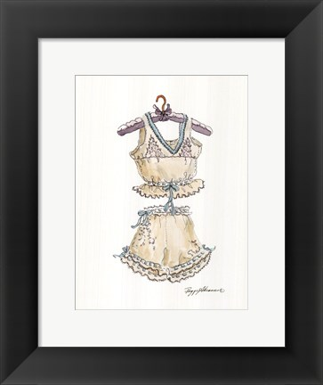 Framed Lavender and Lace Print