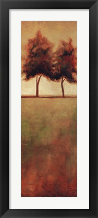Framed Solitary Times III Print