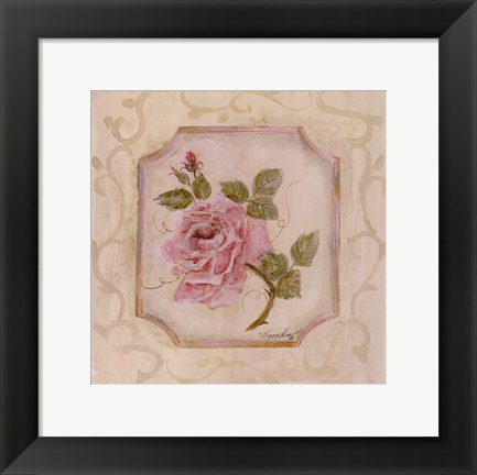 Framed Rose In Season l Print