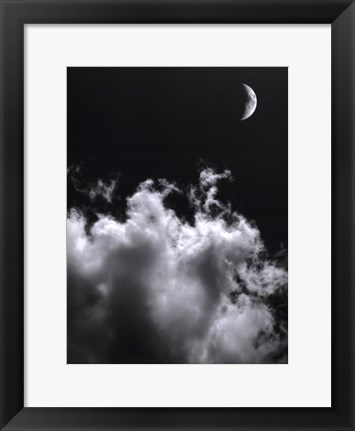 Framed Aspects Of The Moon II Print