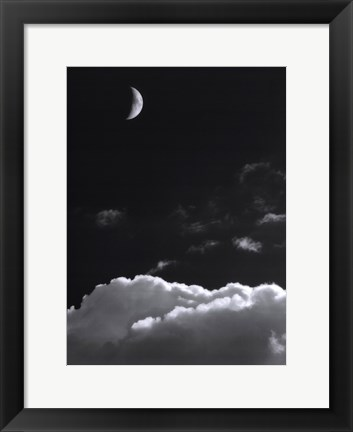 Framed Aspects Of The Moon III Print
