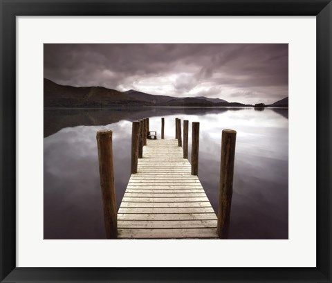 Framed Derwent Water Print