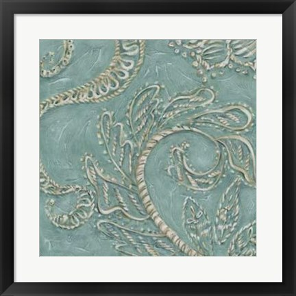 Framed Tiffany Lace III Print
