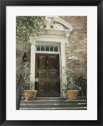 Framed Grove Avenue Print