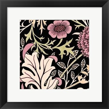 Framed Baroque Beauty IV Print