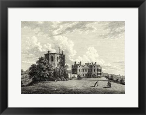 Framed Chilham Castle In Kent Print