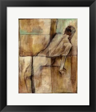 Framed Abstract Proportions IV Print