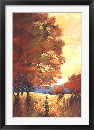 Framed Autumn Mystique Print