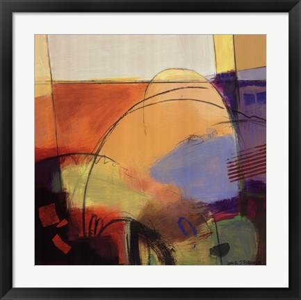 Framed Abstract Dance I Print