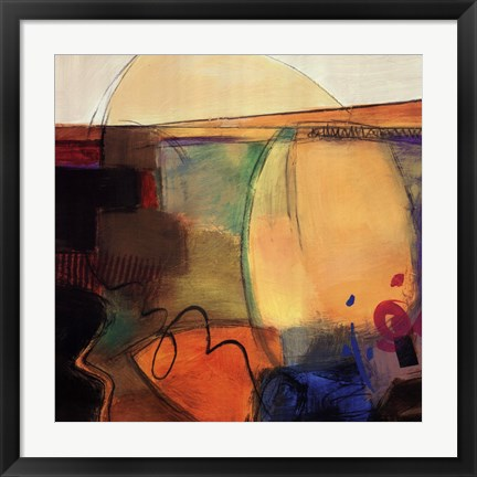 Framed Abstract Dance II Print