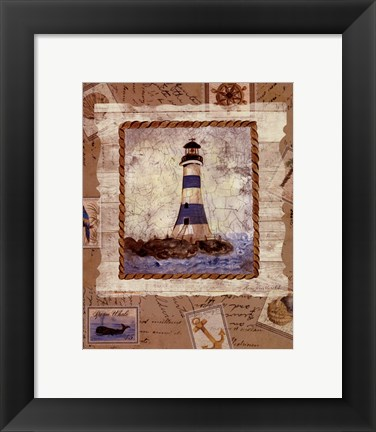 Framed Ship To Shore IV Print