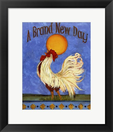 Framed Brand New Day Print