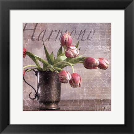 Framed Dutch Tulips II Print