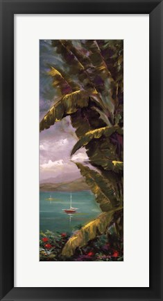 Framed Palm Cove II Print