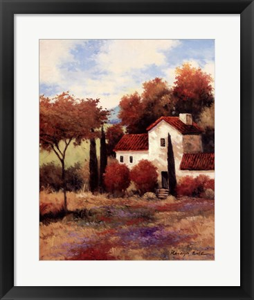 Framed Dijon Farmhouse Print