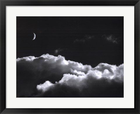 Framed Aspects Of The Moon I Print