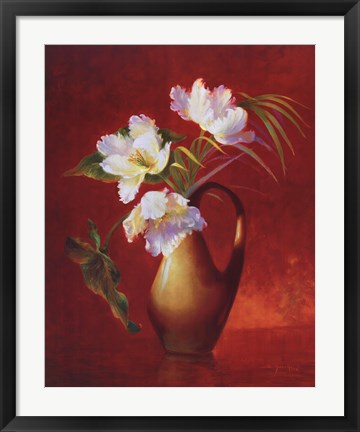 Framed Tropical Tulips Print