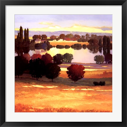 Framed Early Autumn I Print