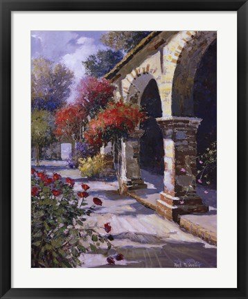 Framed Imposing Arches Print