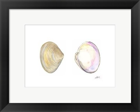 Framed Tidal Treasure I Print