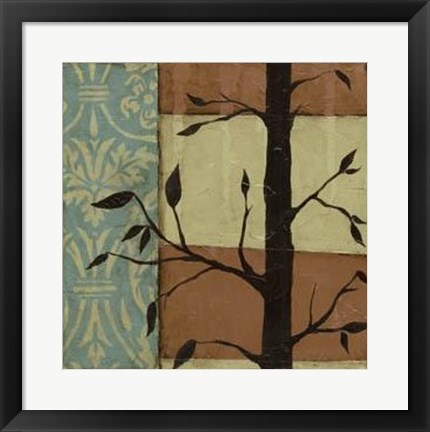 Framed Arts Crafts Silhouette IV Print