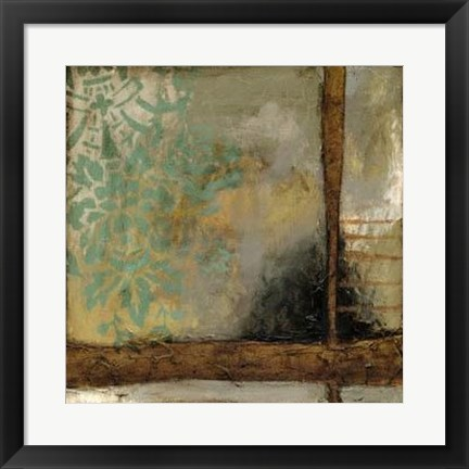 Framed Patina Abstract I Print