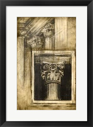 Framed Classical Influence II Print