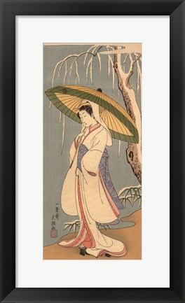 Framed Women Of Japan IV Print