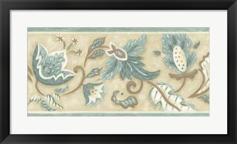Framed Crewelwork Panel I Print
