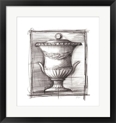 Framed Classical Elements IV Print