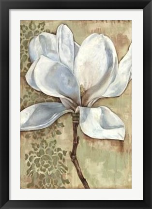 Framed Magnolia Majesty I Print