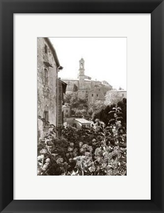 Framed Church Bells Ringing Print