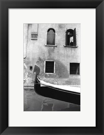 Framed Graceful Gondola Print