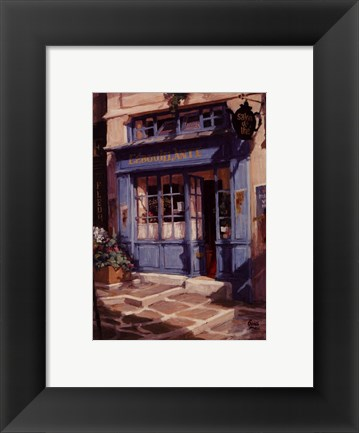 Framed Le Petit The, Paris Print