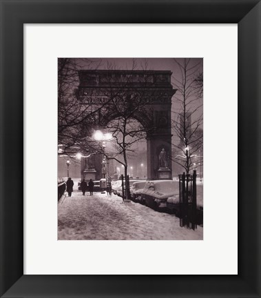 Framed New York - Washington Square Print
