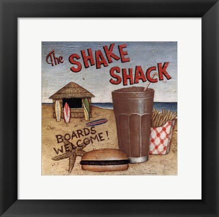 Framed Shake Shack Print