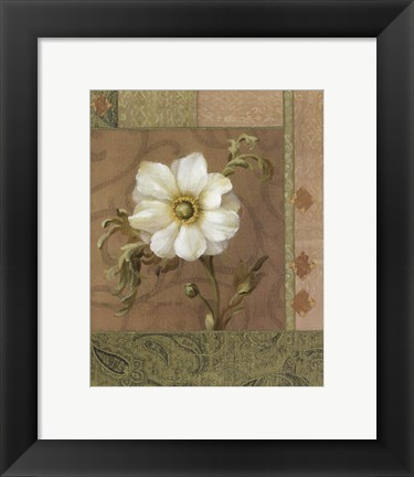 Framed Summer Anemone Print
