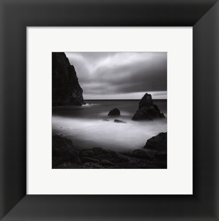 Framed Clear To The Horizon Print