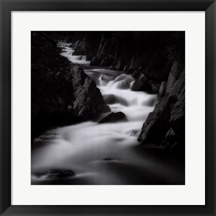 Framed Running River Print