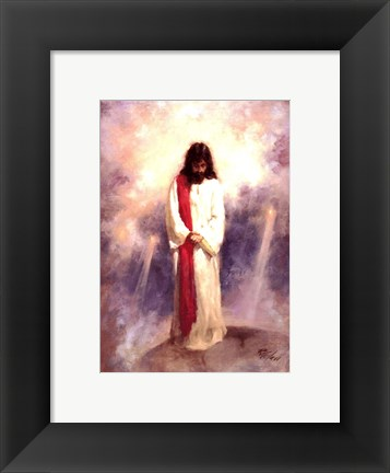 Framed Heavenly Prayer Print