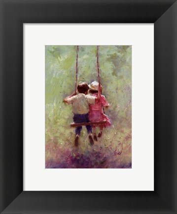 Framed Summer Swing Print