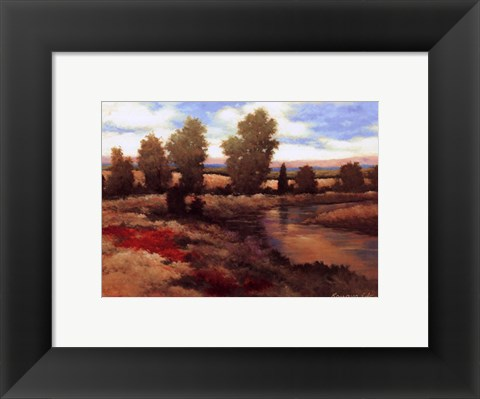 Framed Warm Spring I Print