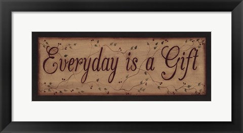 Framed Everyday is a Gift Print