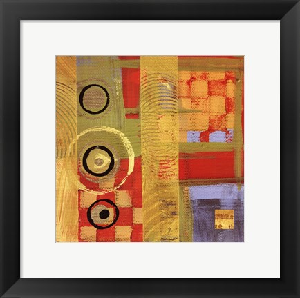 Framed Abstract Story I Print