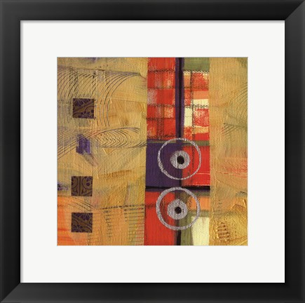 Framed Abstract Story II Print