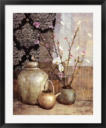 Framed Asian Still Life I Print